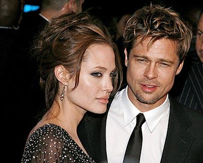 brad pitt body. Brad and Angelina