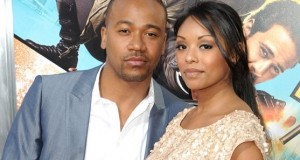 Columbus Short and wife